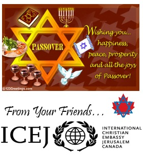 Passover greetings yossilinks vancouver online jewish community passover greeting from international christian embassy jerusalem canada icejpassover m4hsunfo Image collections